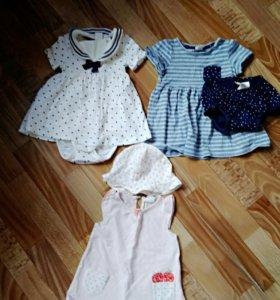 Платья H&M, 3 шт