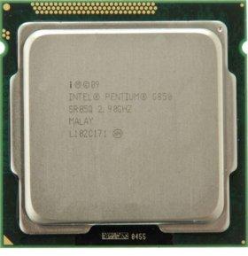 Процессор CPU intel pentium g850