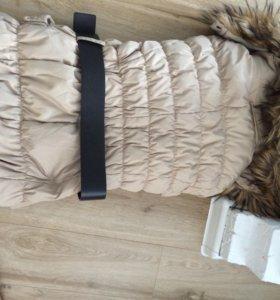 Куртка зимняя с мехом ostin
