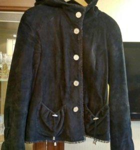 Продам куртку натуральная замша