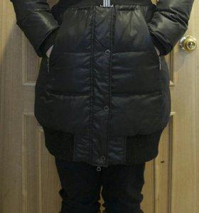 Пуховик, зимнее пальто с капюшоном, Savage, 46-48р