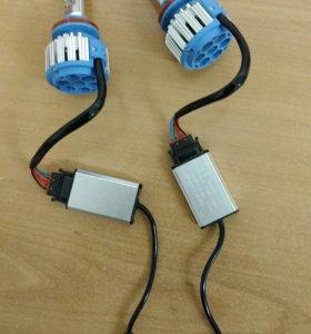 Светодиодные лампы H8,H9,H11