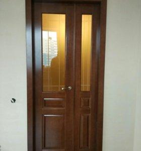 Двери межкомнатные массив сосны изготовлю