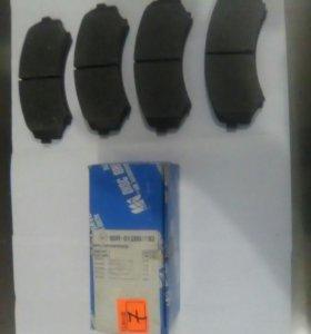 7 Колодки передние дисковые
