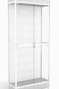 Продам торговые стеклянные витрины с подсветкой