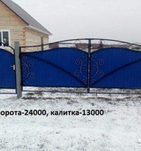 Кованы ворота 7