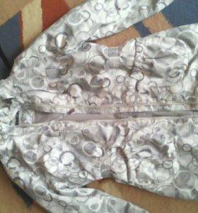 Куртка демисезонная для девочек