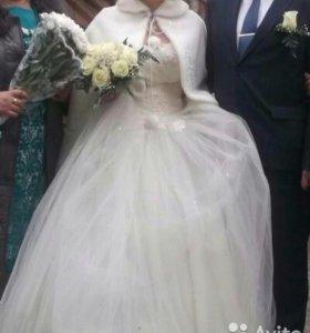 Свадебное платье 44-46 м