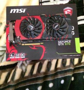 Видеокарта GeForce GTX 970 MSI Gaming 4G