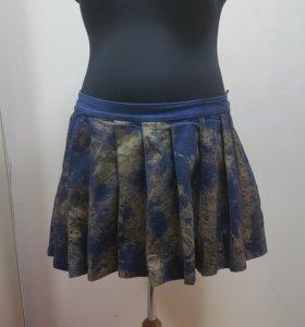 Джинсовая юбка. Большой размер
