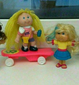 . Куклы Cabbage Patch Kids. Капустки.