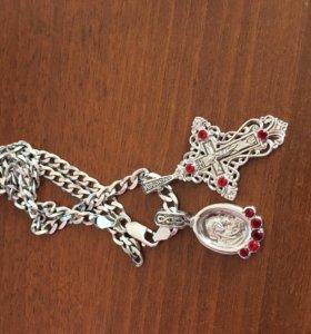 Крестики серебро 925