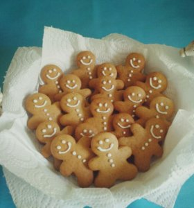 Имбирное печенье 🍪😻