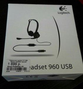 Наушники Logitech PC 960 Stereo Headset