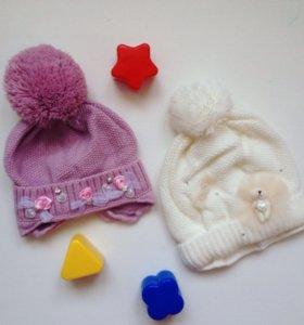 Новые шапки на новорожденного