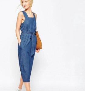 Джинсовые платье Asos. 44 размер.