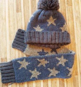 Next шапка и шарф