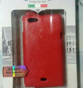 Чехол флип на Sony ST23i Xperia Miro