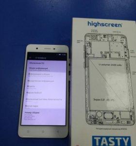 Смартфон Highscreen Tasty