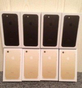 """Айфон 7 """"новый"""" цвет: золото, черный"""