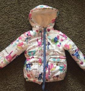 Новая куртка на весну/осень 110-110 см