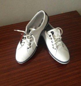 Кожаная обувь. Новые.