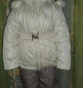 Зимний комплект (куртка+комбинезон)