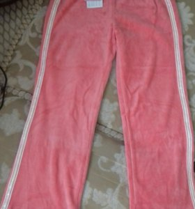 Новые велюровые штаны