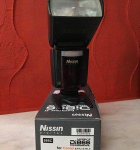 Вспышка Nissin Di866 на Canon