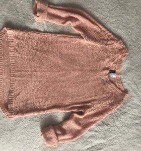 Новый свитер H&M персиковый