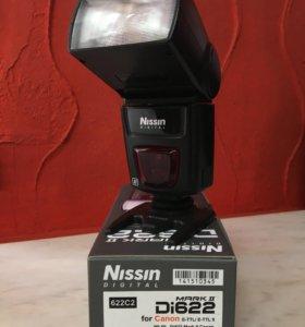 Вспышка Nissin Di622 на Canon