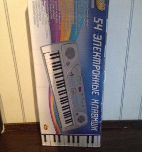 Электронные клавиши 54 новый