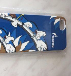Чехол iphone 5/5s Газпром