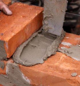 Кирпич М 100,блоки строительные,цемент