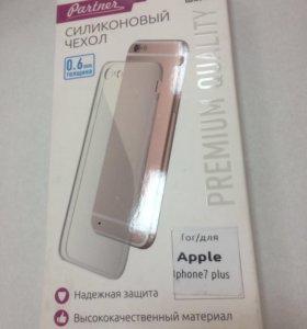 Чехол силиконовый для iPhone7+