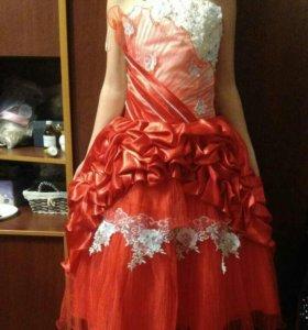 Платье для девочки 3,4 класса