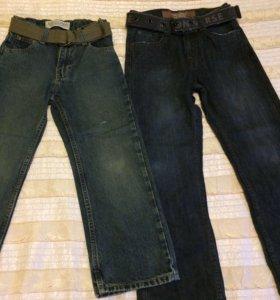 Новые джинсы 122-128 см. (США)
