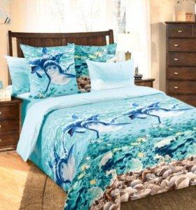 Комплект 2х спального постельного белья