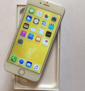 iPhone 6 Silver 64 GB Белый Серебро
