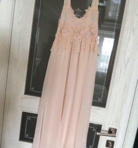Платье -сарафан вечернее