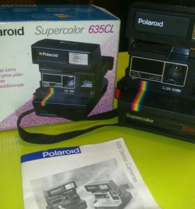 📷Фотоаппарат •Polaroid™ Supercolor 635CL•