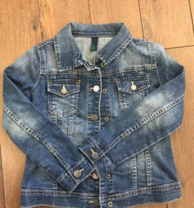 Куртка джинсовая Benetton