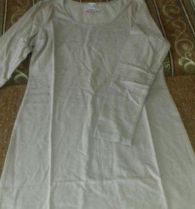Новое платье-футболка