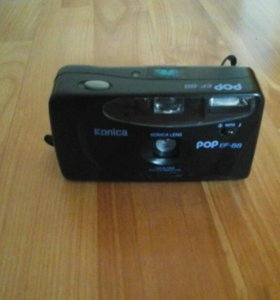 Пленочный фотоаппарат.