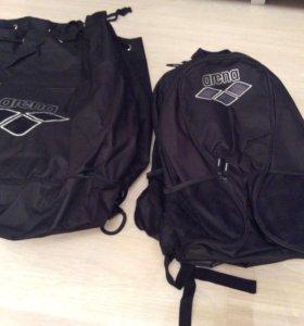 Спортивные сумки, рюкзак