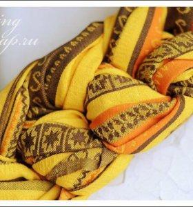 Слинг с кольцами elevill zara tricolor yellow