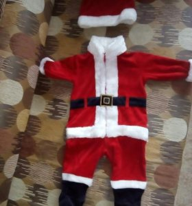 Костюм Санта Клауса, р. 74 (9 месяцев)