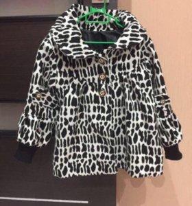 Стильное пальто для модницы