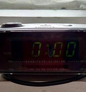 Радио.часы. будильник