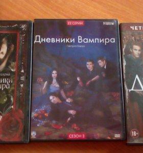 """4 сезона """"Дневники Вампира"""""""